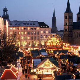 Bonn - one of the best Christmas markets in Germany. I used to live in Bonn for a while - beautiful place to live!