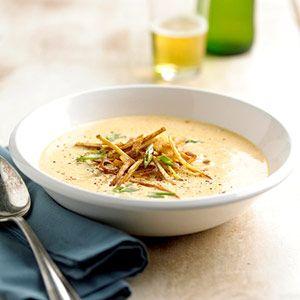 Nossas Receitas sopa de queijo Mais populares Cerveja - sopas - Recipe.com