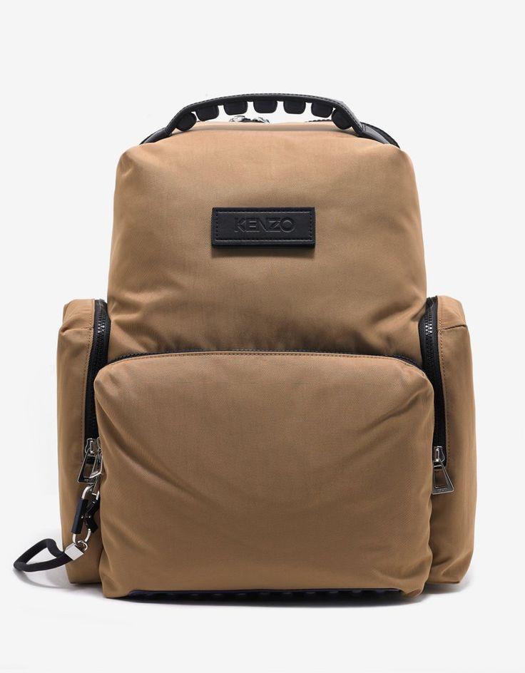 Camel Tan Tarmac Backpack