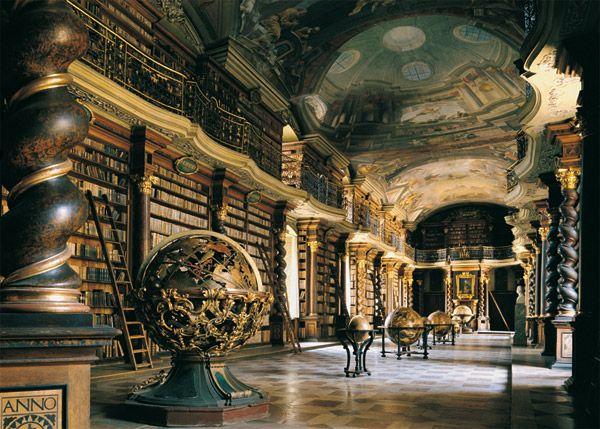 Klementinum Library, Prauge