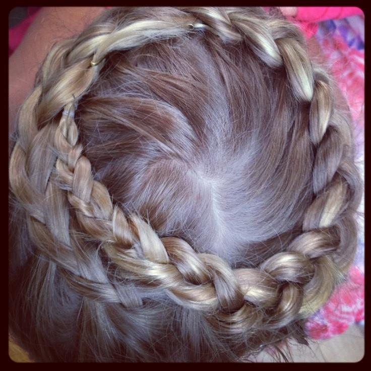 Wedding flower girl hair styling by Kristy from Miss Bliss Hair Boutique.  www.missblissonline.com.au
