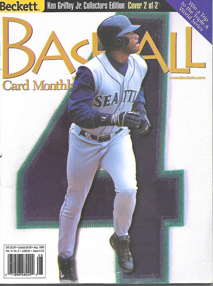 Beckett Baseball Card Monthly Magazine August 1999 173