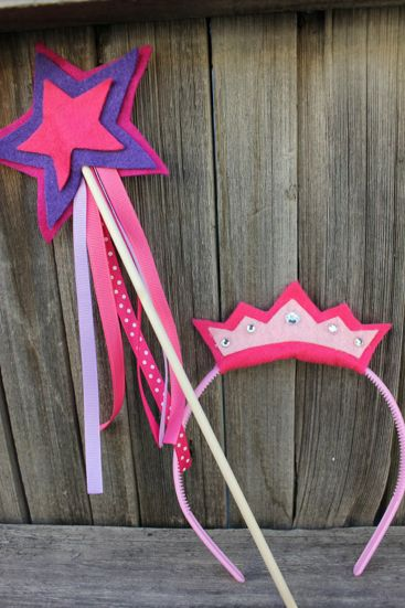 No-Sew Princess Tiara...collection of best home made gifts for toddlers...cute