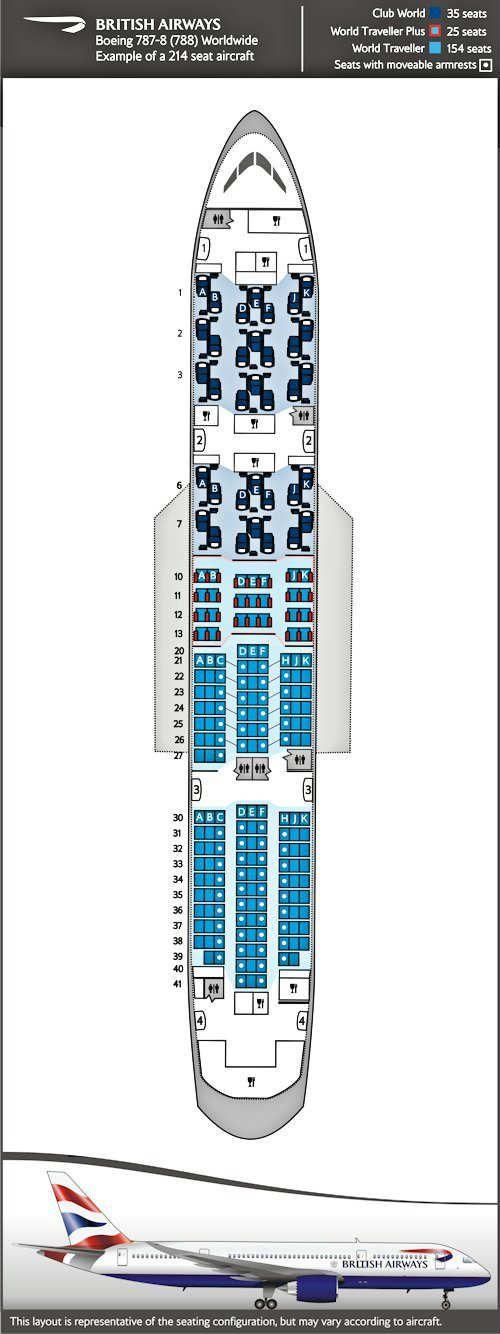 Boeing 787-8 | About BA | British Airways we're in world traveler plus row 11-13...whoopee
