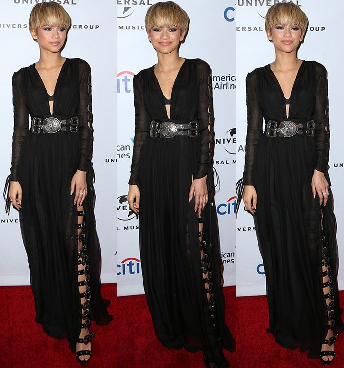 Zendaya in Fausto Puglisi dress