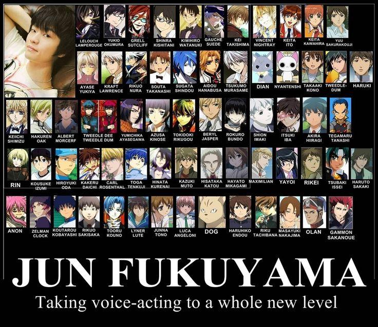 Jun FUKUYAMA :: Taking voice acting to a whole new level!