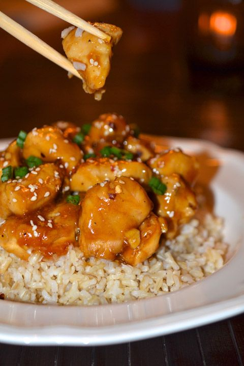 Orange Chicken! Add this low-fat version to your repertoire of healthy recipes for the new year