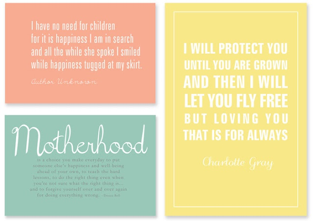 printable Mother's Day quotes...also great for a baby shower: Mothers Day Quotes, Quotes About, Mothers Day Ideas, Motherhood Quotes, Mom Quote, Mother'S Day Printables, Free Printables