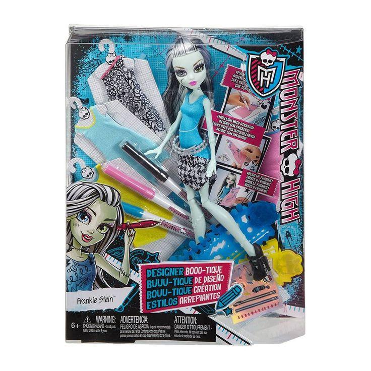 COMPRA de Boutique de Diseño Frankie Stein Monster High al mejor precio | Walmart Tienda en Línea