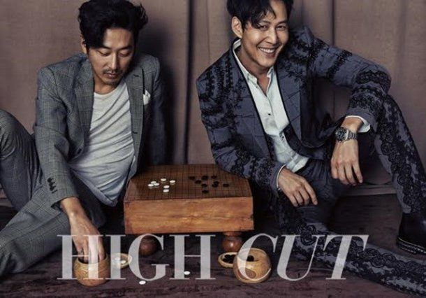 "[Photos] ""The Assassination"" cast Lee Jung-jae, Ha Jung-woo and Oh Dal-soo in unique photo shoot @ HanCinema :: The Korean Movie and Drama Database"