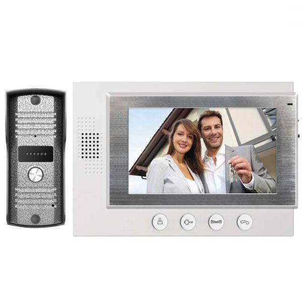 Interfoane VIDEOINTERFON SADA ALB DISPLAY 7″ H2011 EMOS.H2011