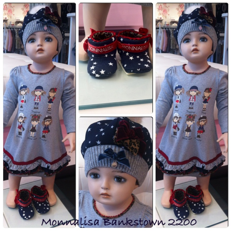 Monnalisa bebe winter collection