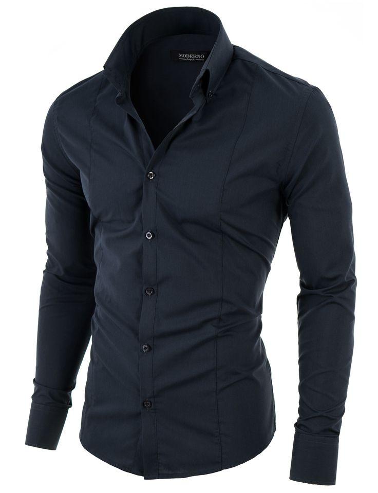 zu herren hemden slim fit auf pinterest herren hemden herren. Black Bedroom Furniture Sets. Home Design Ideas