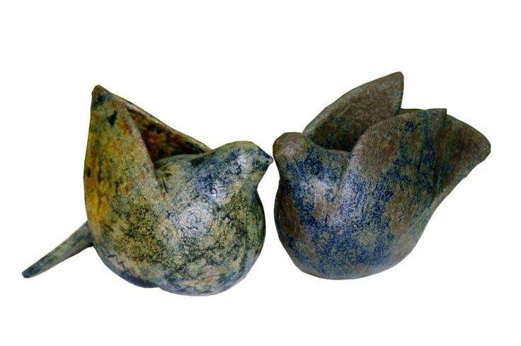 CERAMIC BIRDS BY MARILENA MICHOPOULOU