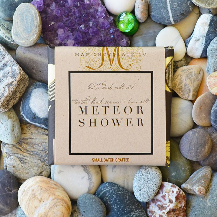 Map Chocolate - Meteor Shower. Craft chocolate, made from bean to bar in Eugene, Oregon.