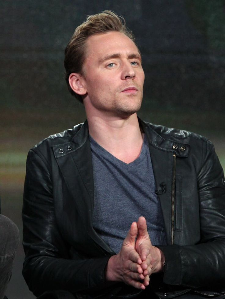 Tom Hiddleston (It looks like he's about to disagree and give the most eloquent way as to why he's right...)