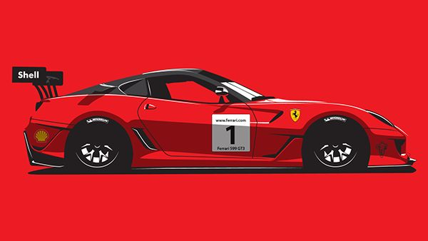Race Cars on Behance