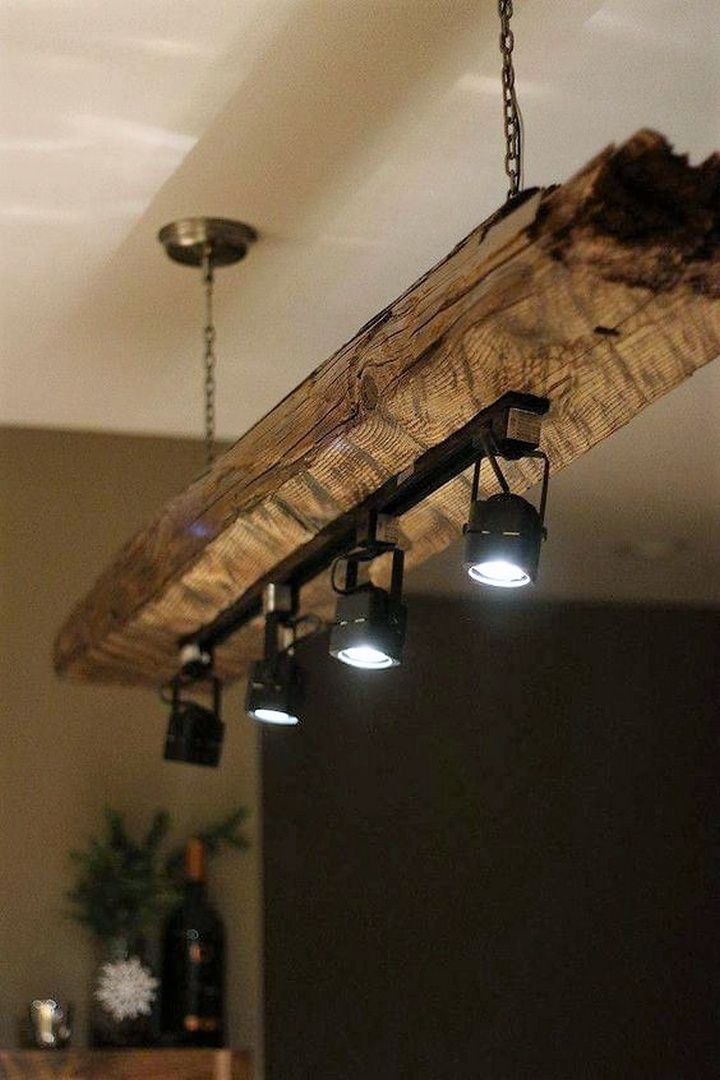 rustic lighting idea