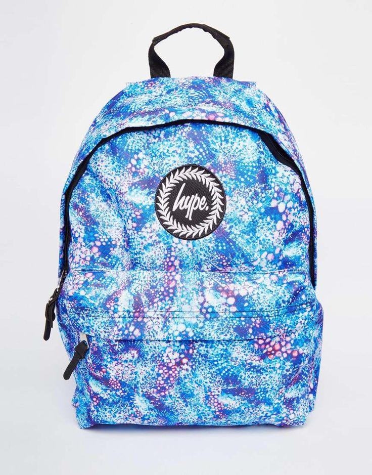 Image 1 ofHype Backpack with Blue Bubblegum Print