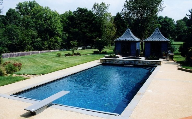 52 Best Rectangle Pools Images On Pinterest Rectangle Pool Rectangular Pool And Pools