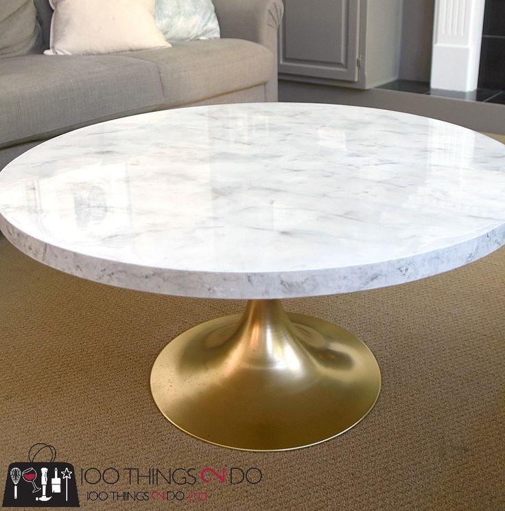 Best 25 Faux marble coffee table ideas on Pinterest Ikea