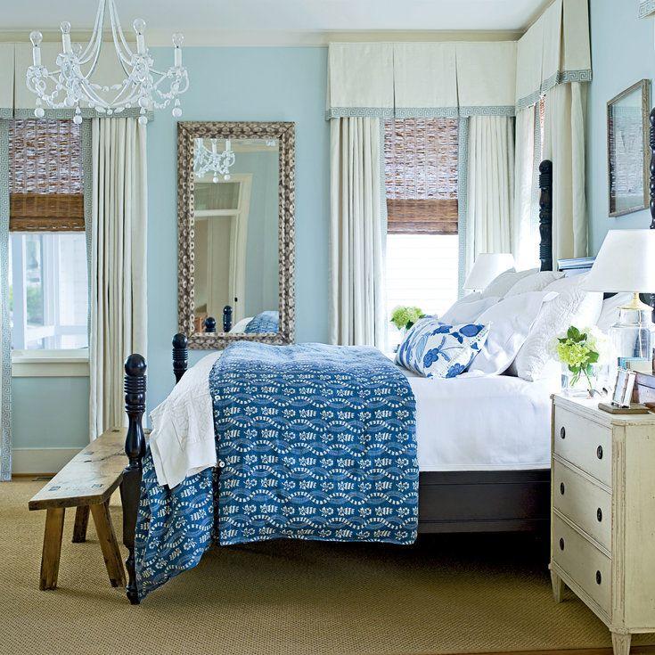 Seaside Elegance - Soothing Beachy Bedrooms - Coastal Living