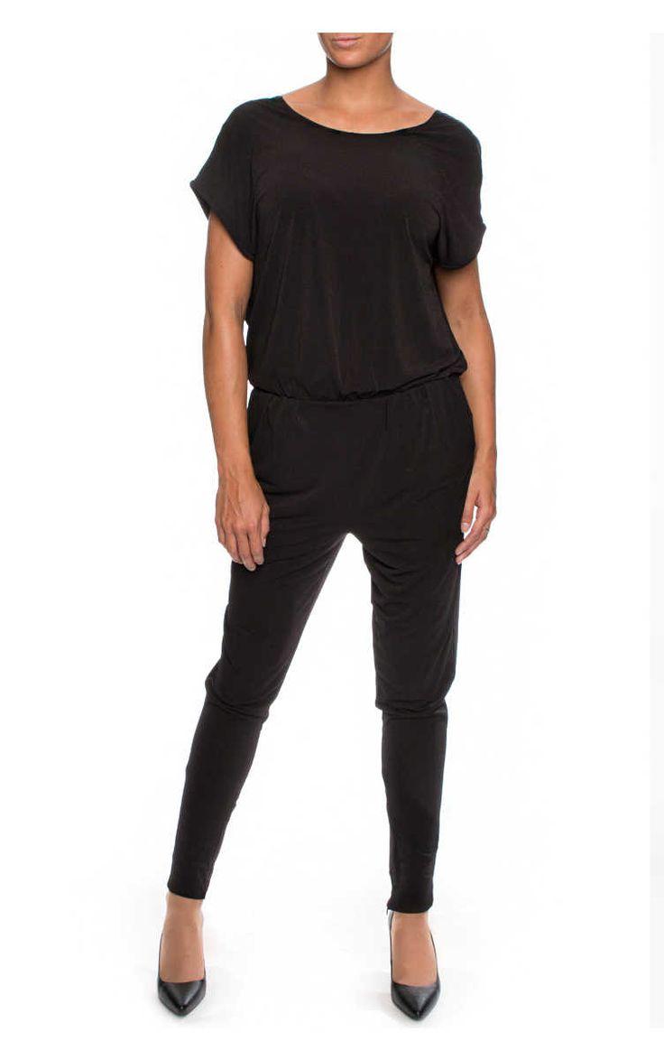 Jumpsuit Olia BLACK - By Malene Birger - Designers - Raglady