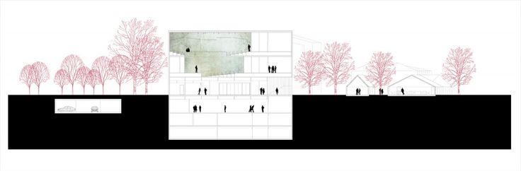 """Competition Entry: SCStudio Transforms Budapest Park into """"Urban Archipelago"""""""