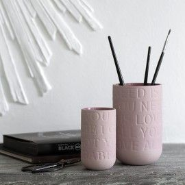 Love Song stor vase - Rosa