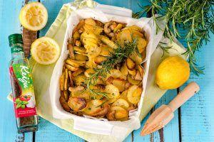 Libanonilainen broileri-perunavuoka