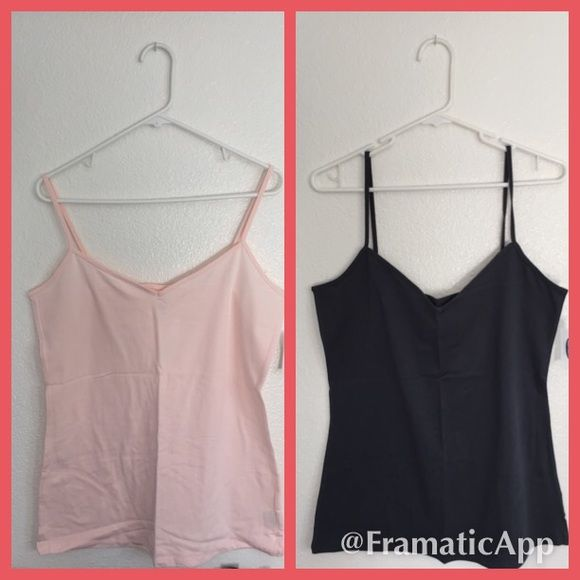 XL Old Navy Cami Bundle! Pink & Navy Blue Cami's. Old Navy Cami Bundle! Pink and Navy Blue Cami's.  Brand new, with tags. Size XL. Old Navy Tops Camisoles