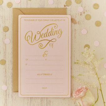 Pastel Perfection - Wedding Invitations