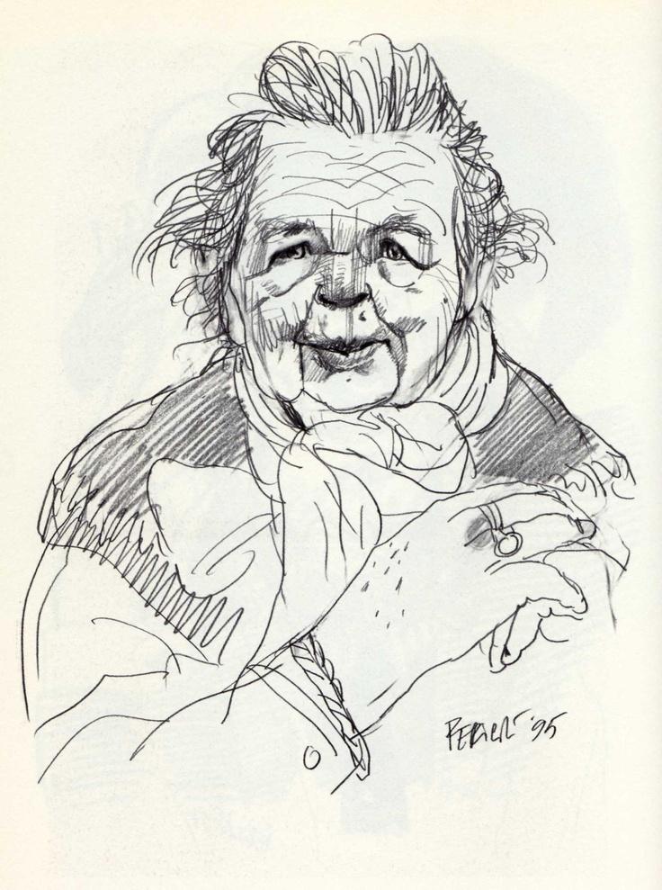 Tullio Pericoli Marguerite Yourcenar