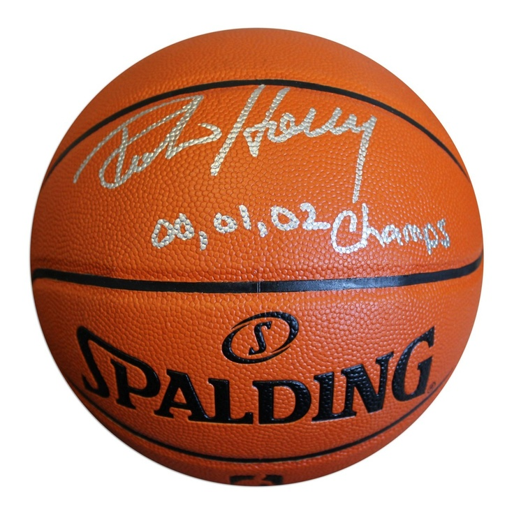AAA Sports Memorabilia LLC   Robert Horry Autographed Indoor/Outdoor  Basketball Inscribed