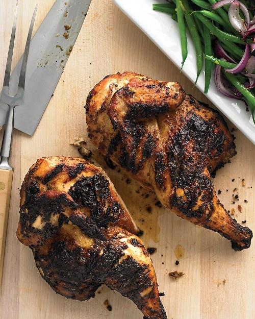 Emeril's Caribbean Chicken- yes! :): Food Recipes, Caribbean Chicken, Everyday Food, Chicken Recipes, Dinners Recipes, Emeril Caribbean, Chicken Dishes, Caribbean Food, Jerk Chicken