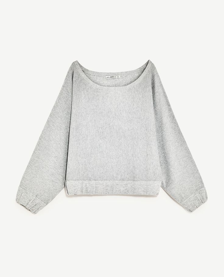 Image 6 of SWEATER WITH LOOSE-FIT SLEEVES from Zara
