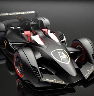 leMans cars concepts | Lamborghini Le Mans Concept Study »