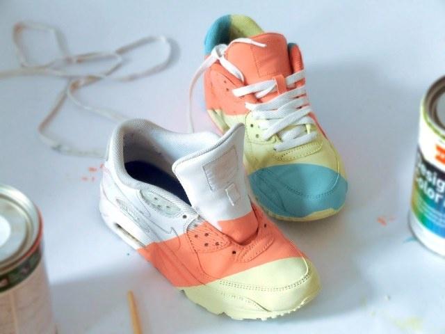 #Nike #AirMax #DIY custom Kick. #Design