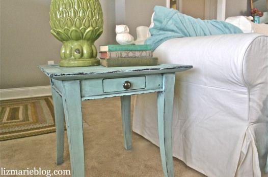 DIY Chalk Painted Furniture