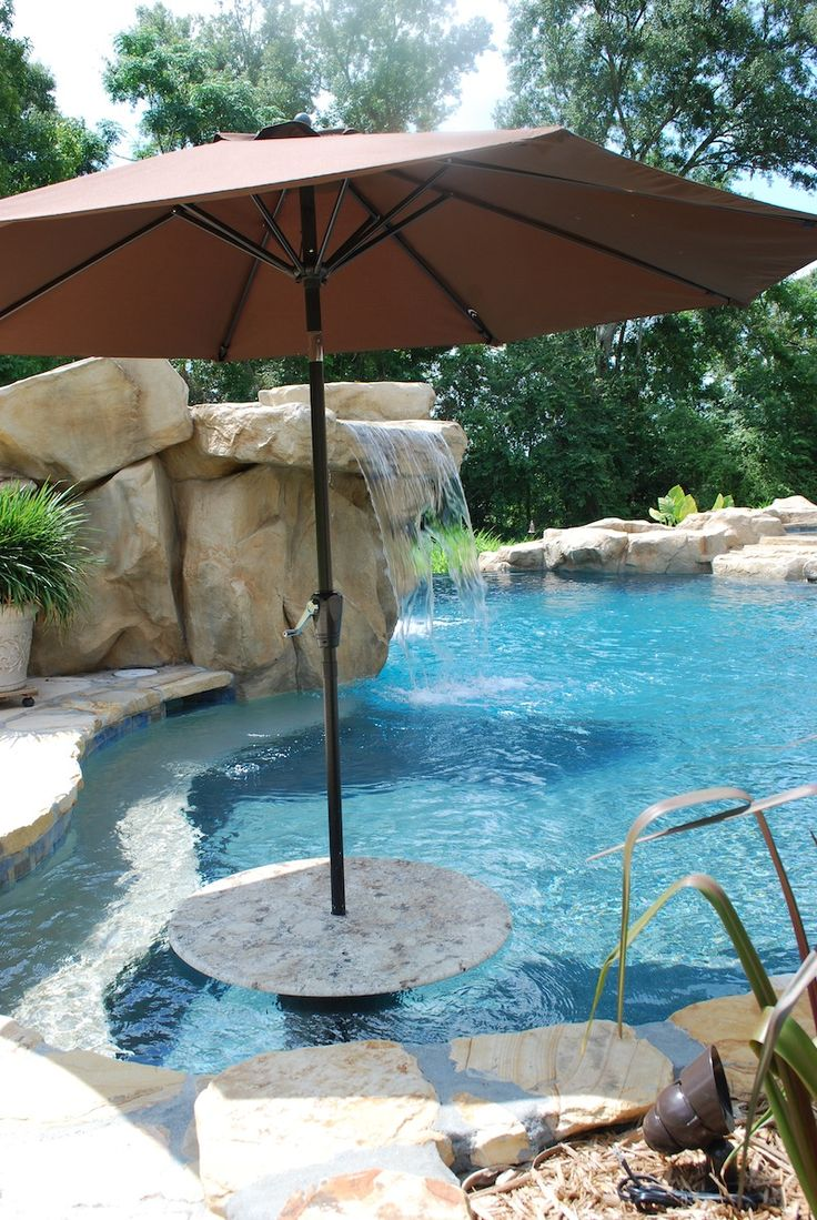 Cantilever Umbrella Tan Offset Pre Lit 11 Ft Patio With Base: 25+ Best Ideas About Pool Umbrellas On Pinterest