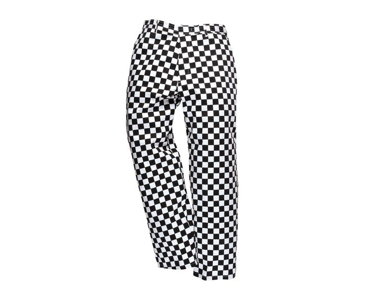 Portwest Harrow Chefs Trousers are a specially designed product for chefs which provide excellent comfort and practicality. Made from a polyester and cotton Kingsmill 190 fabric, they have been pre-shrunk to help retain their shape, and are treated with a Texpel coating; which allows liquids to bead and roll off of them, ensuring excellent product life. These chefs trousers feature a zip fly with a hook and bar fastening, with side pockets and a jetted back pocket for storage.