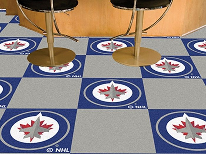 Use the code PINFIVE to receive an additional 5% discount off the price of the Winnipeg Jets NHL Carpet Tiles at sportsfansplus.com
