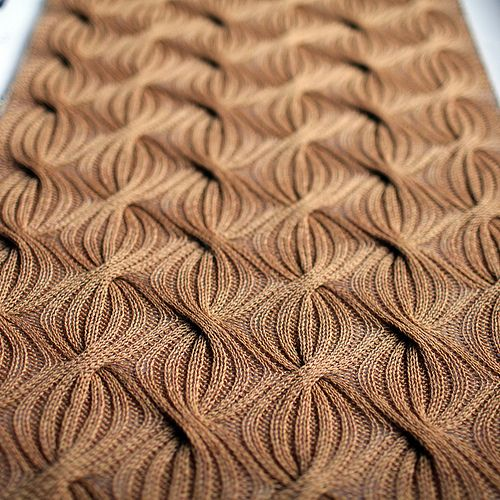 Reversible Knitting Stitch Patterns Free : #02 Reversible Cabled-Rib Shawl pattern by Lily M. Chin Beautiful, Cable an...