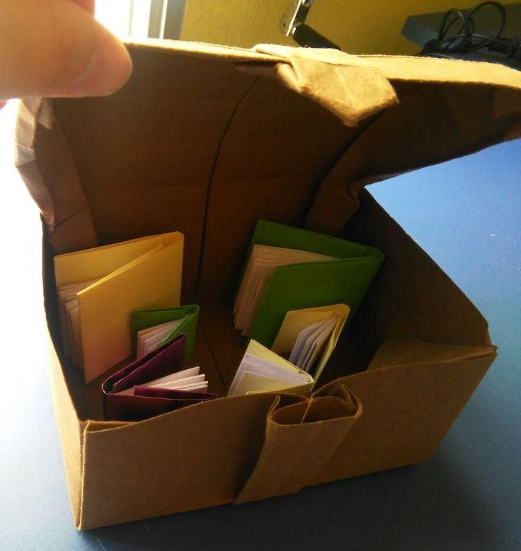 13. Baúl abierto (práctica de laboratorio de origami)