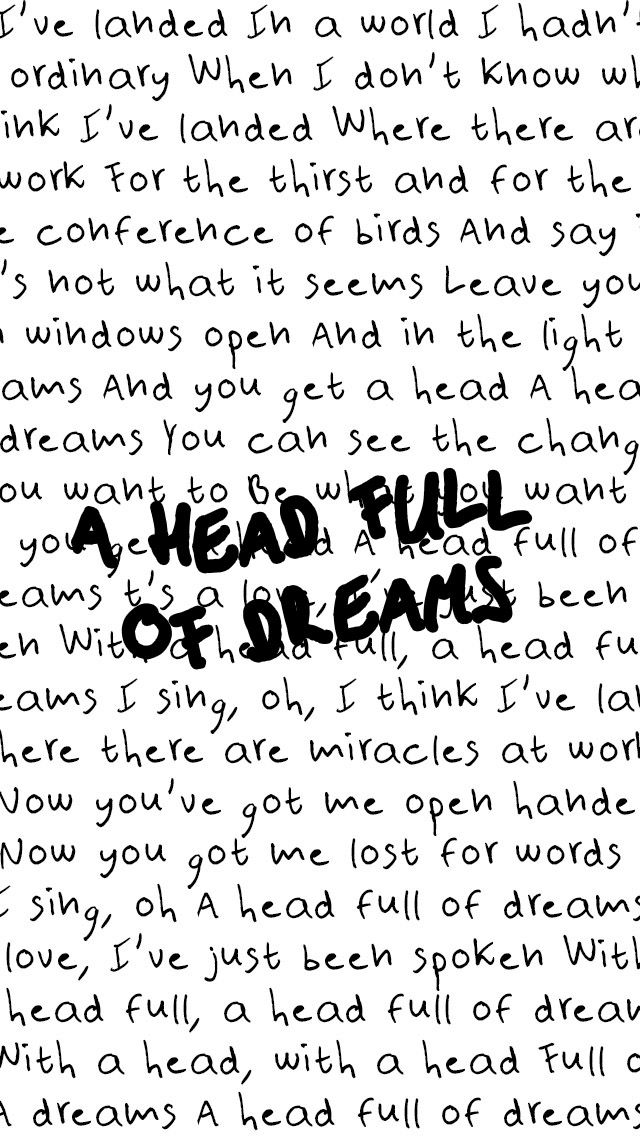 A Head Full of Dreams - Coldplay                                                                                                                                                                                 Más