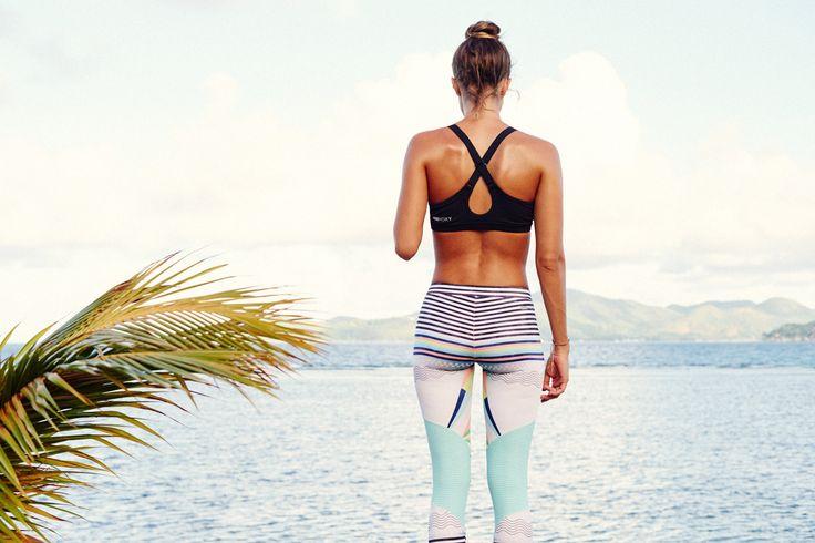 Mornings in the #ROXYfitness Keep It ROXY Surf Legging