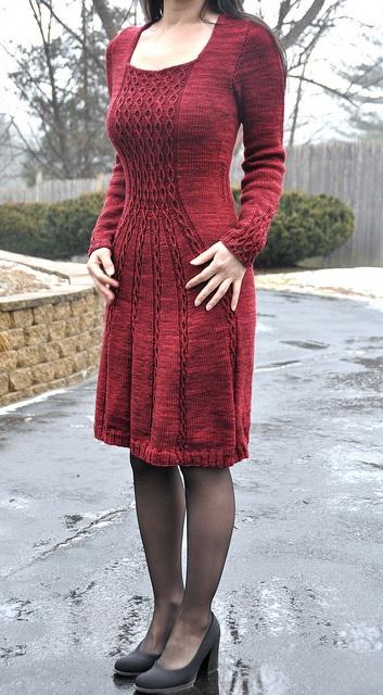 jettshin's 2.Cabletta Wannabe-GRADUATION DRESS-Test knit