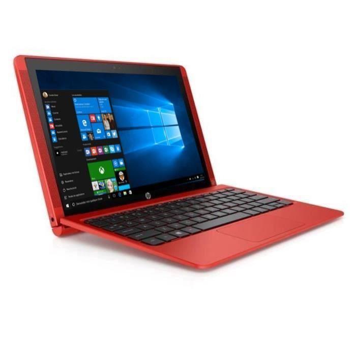 """Soldes Ordinateur portable HP Cdiscount. Achat HP PC convertible tablette Pavilion x2 10"""" 10n121n - prix Soldes Cdiscount 229.90 €"""