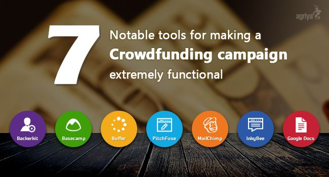 7 Notable #tools for making a #Crowdfunding campaign extremely functional   Check out: https://blogs.agriya.com/2016/02/16/7-notable-tools-making-crowdfunding-campaign-extremely-functional/