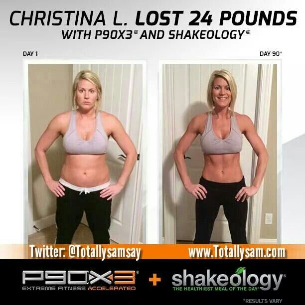 P90X 3 results! Congrats you earned it!